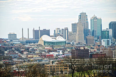 Photograph - Downtown Kansas City View by Catherine Sherman