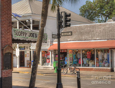 Photograph - Downtown Key West by Juli Scalzi