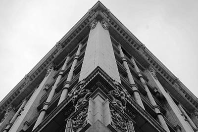 Photograph - Downtown La Corner Architecture by Matt Harang