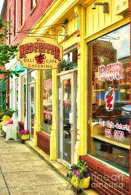 Photograph - Downtown La Grange Kentucky by Mel Steinhauer