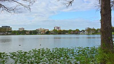 Photograph - Downtown Lakeland by Carol Bradley