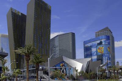 Photograph - Downtown Las Vegas by Willie Harper