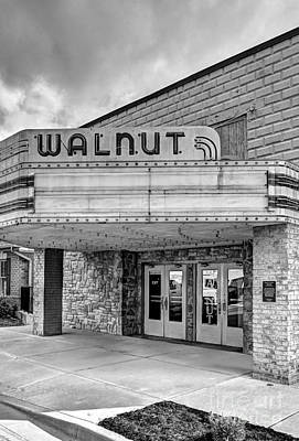 Photograph - Downtown Lawrenceburg Indiana Black And White by Mel Steinhauer