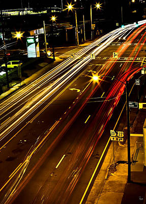 Downtown Lights Original by Jason Blalock
