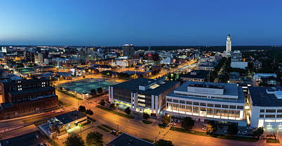 Photograph - Downtown Lincoln by Mark Dahmke