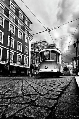 Downtown Lisbon Art Print