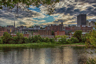 Wall Art - Photograph - Downtown Lynchburg by Cliff Middlebrook