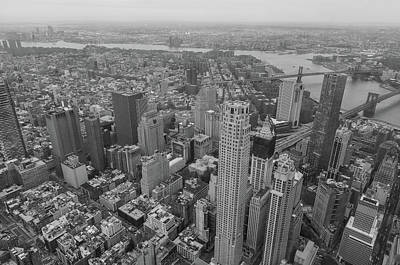 Photograph - Downtown Manhattan by Jonathan Nguyen
