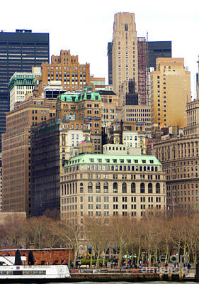 Photograph - Downtown Manhattan - New York City by Doc Braham