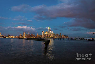 Photograph - Downtown Manhattan by Zawhaus Photography