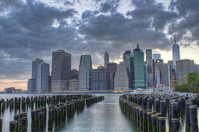 Photograph - Downtown Manhattan by Zev Steinhardt