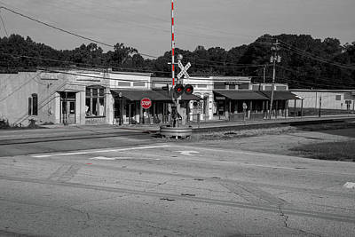 Photograph - Downtown Maysville In Selective Color by Doug Camara