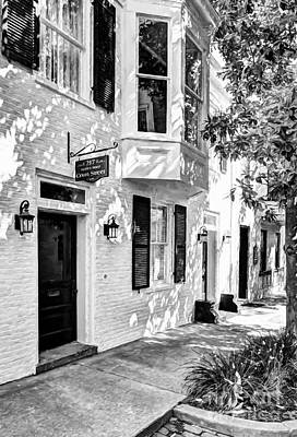 Photograph - Downtown Maysville Kentucky # 7 Black And White by Mel Steinhauer