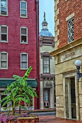 Photograph - Downtown by Mike Martin