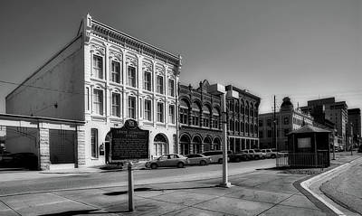 Photograph - Downtown Montgomery Alabama by L O C