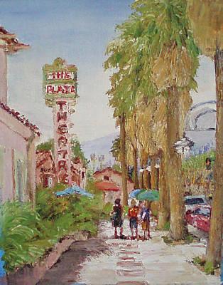 Downtown Morning Original by Reginald Van Pelt