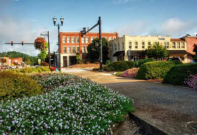 Murphy Photograph - Downtown Murphy North Carolina by Greg Mimbs
