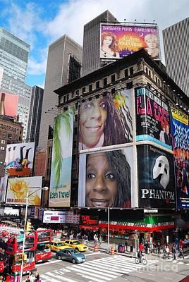 Photograph - Downtown New York by Charita Padilla