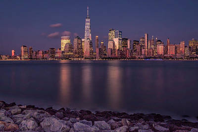 Photograph - Downtown Nyc At Sunset by Francisco Gomez
