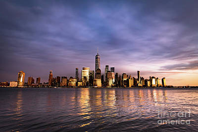Photograph - Downtown Nyc by Zawhaus Photography
