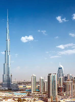 Photograph - Downtown Of Dubai by Anna Om