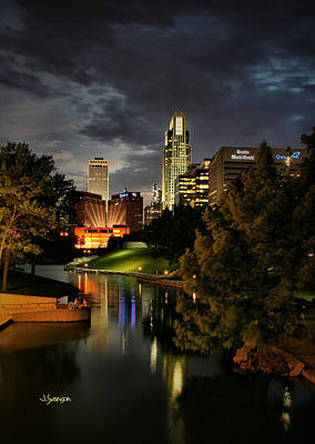 Downtown Omaha Art Print