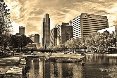 Downtown Omaha Nebraska Art Print