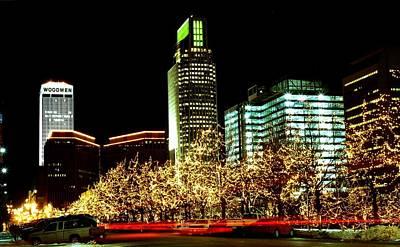 Downtown Omaha Skyline Art Print