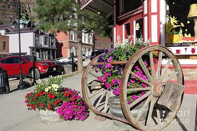 Photograph - Downtown Ouray by Frank Townsley