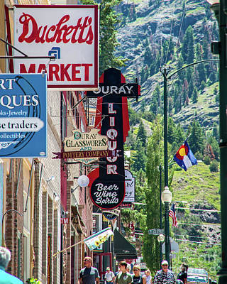 Photograph - Downtown Ouray by Stephen Whalen