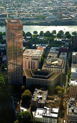 Photograph - Downtown Portland 2 by Jerry Sodorff