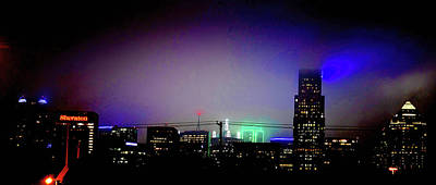Photograph - Downtown Predawn Fog by Diana Mary Sharpton