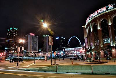 Photograph - Downtown Saint Louis by Frozen in Time Fine Art Photography