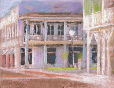 Pastel - Downtown Saint Marys Georgia by Melissa Herrin