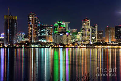 Art Print featuring the photograph Downtown San Diego by Eddie Yerkish