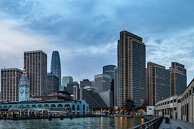 Photograph - Downtown San Francisco by Bill Gallagher