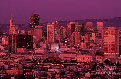 Photograph - Downtown San Francisco by Jim Corwin
