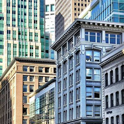 Photograph - Downtown San Francisco by Julie Gebhardt