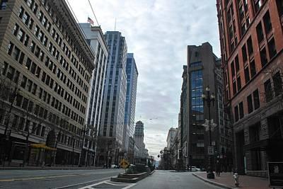 Photograph - Downtown San Francisco - Market Street by Matt Harang