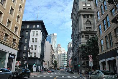 Photograph - Downtown San Francisco Street Level by Matt Harang