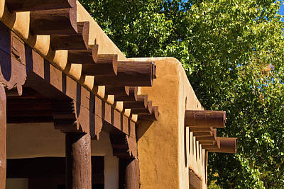 Photograph - Downtown Santa Fe by Bill Barber
