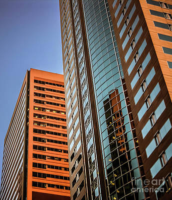 Photograph - Downtown Seattle Skyscrapers #1 by Blake Webster