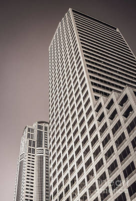 Photograph - Downtown Seattle Skyscrapers #10 by Blake Webster