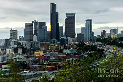 Downtown Seattle,washington Art Print