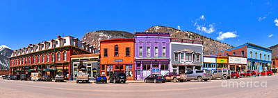 Photograph - Downtown Silverton Colorado by Adam Jewell