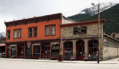 Downtown Silverton Colorado Art Print by Mountain Dreams
