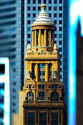 Digital Art - Downtown Spire by Bartz Johnson