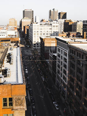 Photograph - Downtown St. Louis From Above by Dylan Murphy