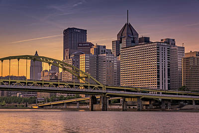 Mount Washington Photograph - Downtown Steel by Rick Berk