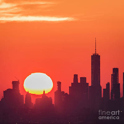 Photograph - Downtown Sunrise by Zawhaus Photography